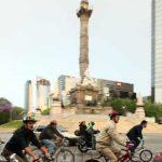 Riding the Talk - Mexico City Mayor Bikes to Work