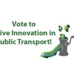"""Vote to """"Drive Innovation in Public Transport"""""""