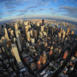 A view from the Empire State Building. By asterix611.