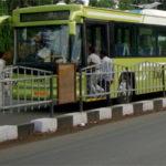 Trial runs launched on the iBus bus rapid transit corridor, Indore, India. Photo by Dario Hidalgo.