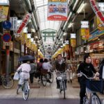 Japan's shotengais - partly enclosed markets - succeed both because of their proximity to transport and the unique, tightly knit communities they foster. Photo by Michael Vito/Flickr.