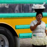Buses and Cell Phones in Jinotega, Nicaragua