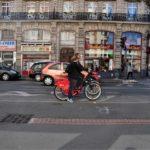 Biking in Lille, France