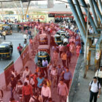 Physical Distancing on Mumbai's Trains Is Nearly Impossible, and Station Design Is a Big Reason Why